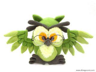 Vatertag Geschenk häkeln Eule häkeln Spielzeug Amigurumi | Etsy | 240x320